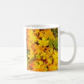 Fall Leaves Autumn Colors Leaf Design Mug
