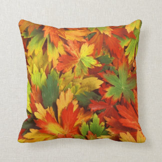Fall Leaves Autumn Throw Pillow Home Decor