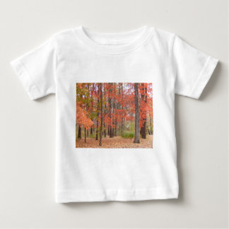 fall leaves baby T-Shirt