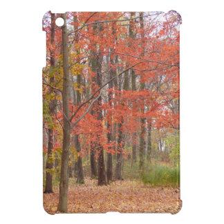 fall leaves cover for the iPad mini