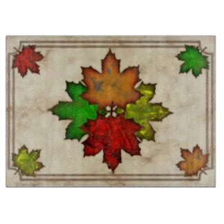Fall Leaves Cutting Board