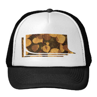 FALL Leaves GOLDEN Leaf Show T-shirts Trucker Hat