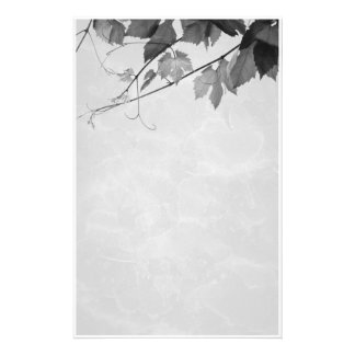 Fall Leaves Gothic Stationery