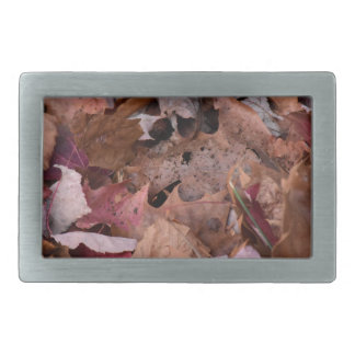 Fall leaves in the Smoky Mountains Belt Buckle