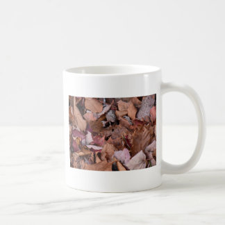 Fall leaves in the Smoky Mountains Coffee Mug