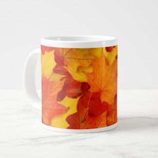 Fall Leaves Large Coffee Mug