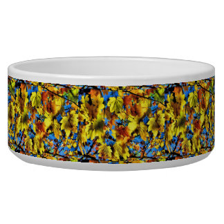 Fall Leaves, Large Pet Bowl
