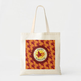 Fall Leaves Maple Thanksgiving Tote Bag
