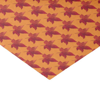 Fall Leaves Maple Tissue Paper