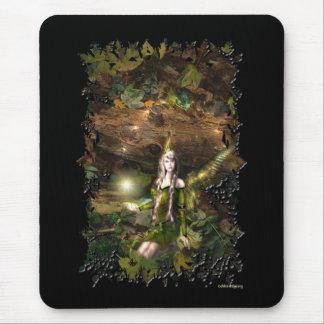 Fall Magic Fairy full Mouse Pad