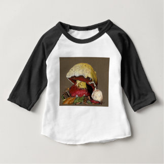 Fall Mushroom Autumn Leaves Baby T-Shirt