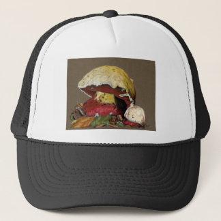 Fall Mushroom Autumn Leaves Trucker Hat