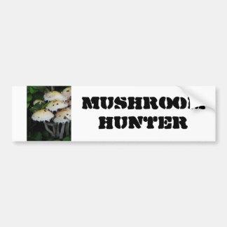 Fall Mushrooms - Photograph Bumper Sticker