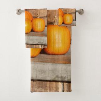 Fall o day bath towel set