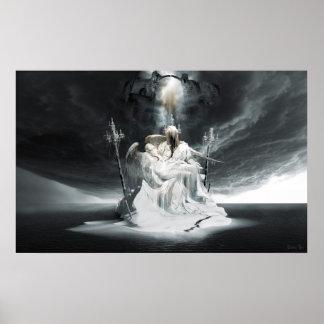 Fall of Lucifer Pieta Poster