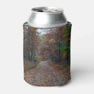 Fall On The Dirt Road Can Cooler