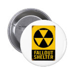 FALL OUT SHELTER 6 CM ROUND BADGE
