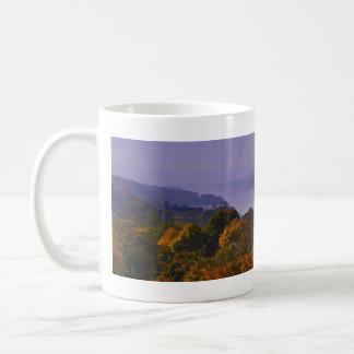 Fall Panoramic of Hudson River Coffee Mug