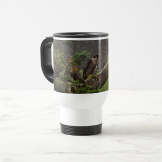 Fall - Peregrine Falcon Travel Mug