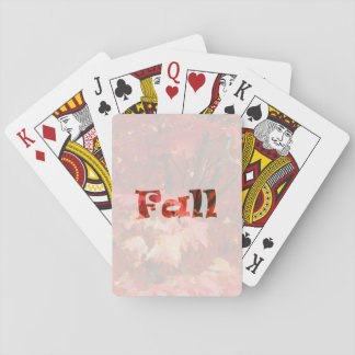 Fall Playing Cards