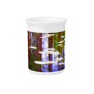 Fall pond pitcher
