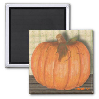Fall Pumpkin Magnet