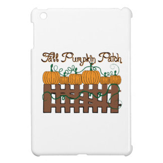 Fall Pumpkin Patch iPad Mini Cover