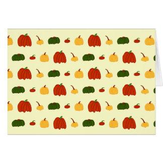 Fall Pumpkins: Note Card #1