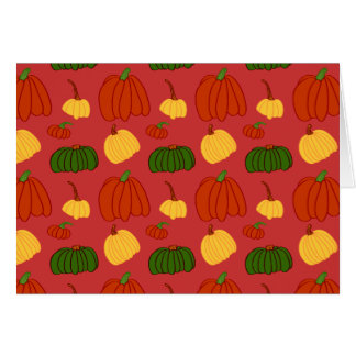 Fall Pumpkins: Note Card #2