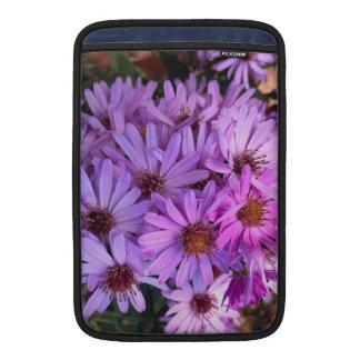 Fall Purple Flowers MacBook Sleeve