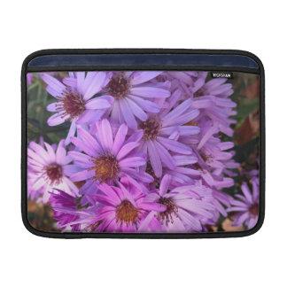 Fall Purple Flowers Sleeve For MacBook Air