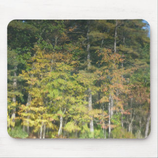 Fall Reflection in Walden Pond Mouse Pad