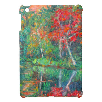 Fall Reflections at Peaks of Otter Case For The iPad Mini