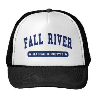 Fall River Massachusetts College Style tee shirts Hat