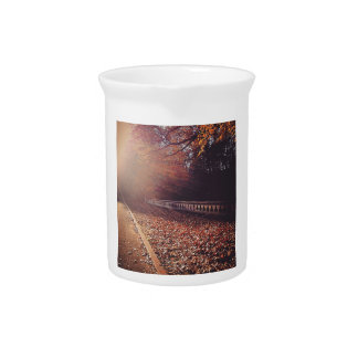 Fall Road Beverage Pitcher