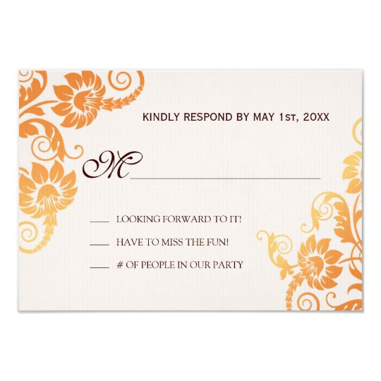 Fall RSVP Cards
