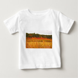 Fall Scene at Great Meadows Baby T-Shirt