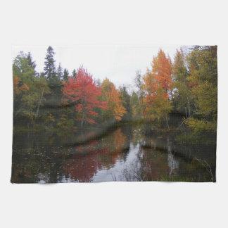 Fall Scenery Kitchen Towel