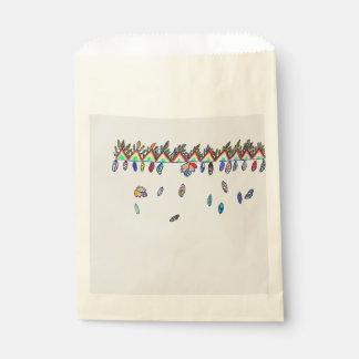 fall season gift favor bag