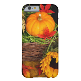 Fall Season Harvest Happy Thanksgiving Barely There iPhone 6 Case