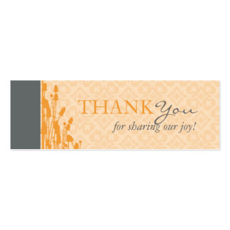 Fall Sophisticate TY Skinny Card Pack Of Skinny Business Cards