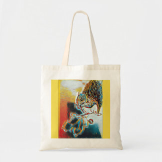 Fall Squirrel Tote Bag