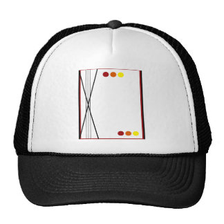 Fall Stripes and Dots Hats