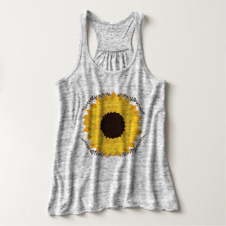 fall sunflower singlet