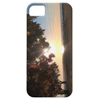 Fall Sunrise At The Lake Barely There iPhone 5 Case