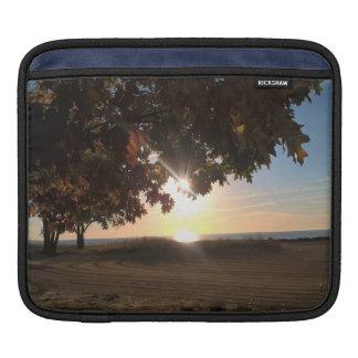 Fall Sunrise At The Lake iPad Sleeve