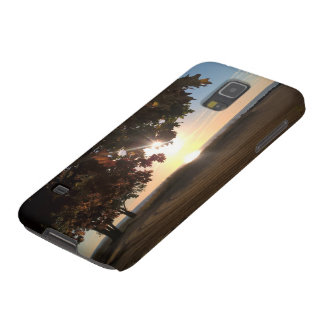 Fall Sunset At The Lake Galaxy S5 Case