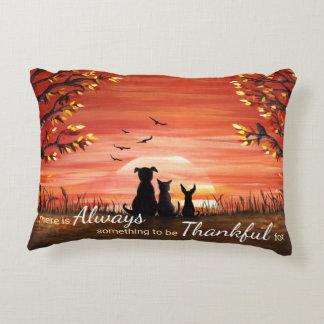 Fall Sunset Decorative Cushion