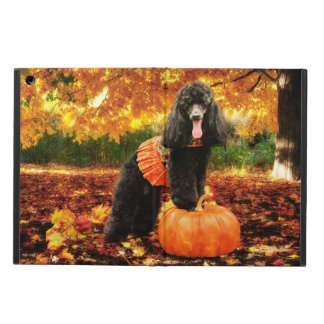 Fall Thanksgiving - Gidget - Poodle Case For iPad Air