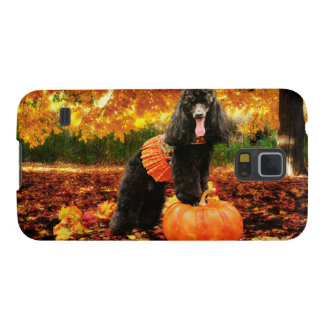 Fall Thanksgiving - Gidget - Poodle Galaxy S5 Cover